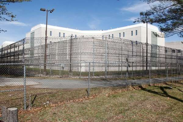 Nassau County Correctional Facility is seen on Friday,