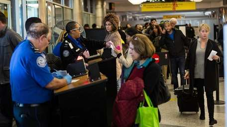Air travelers will find Kennedy and LaGuardia airports