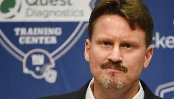 New York Giants head coach Ben McAdoo