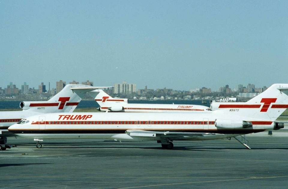 Originally Eastern Air Shuttle, Donald Trump bought the
