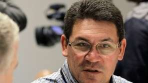 Carolina Panthers head coach Ron Rivera talks
