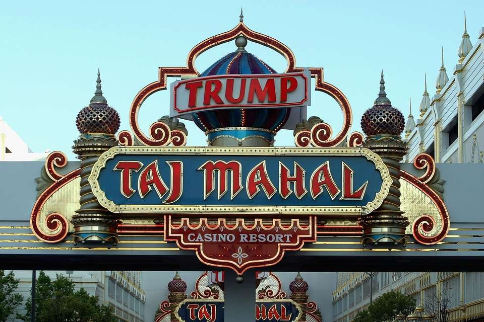 Trump Entertainment Resorts owns the Trump Taj Mahal