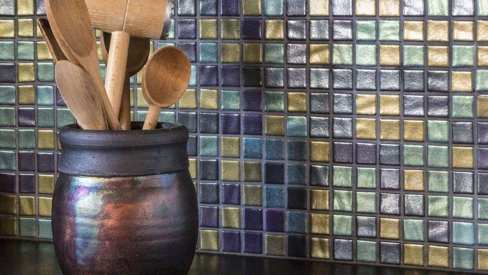 Peel-and-stick tiles come in lots of finishes and