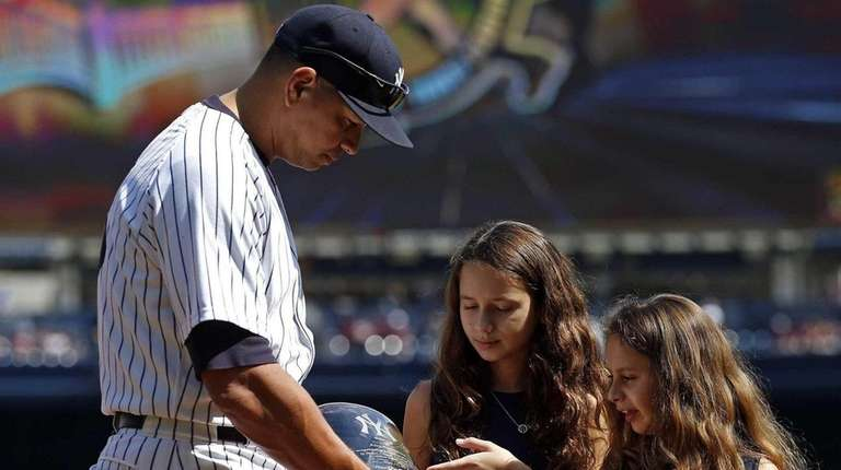 Alex Rodriguez of the New York Yankees and