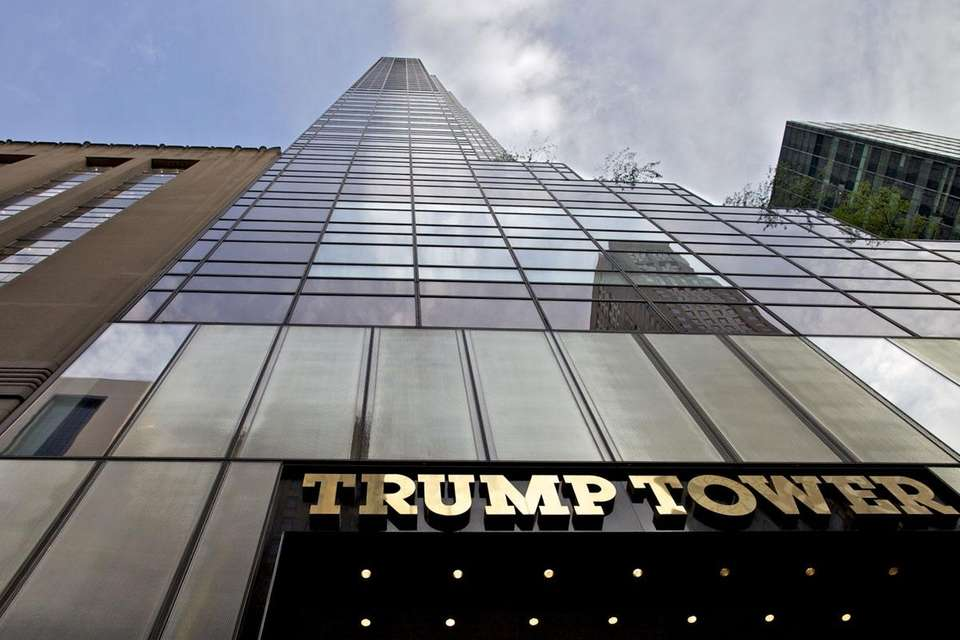 Trump Tower, which serves as the headquarters for