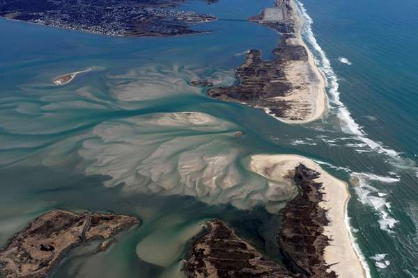 The breach caused by superstorm Sandy at the