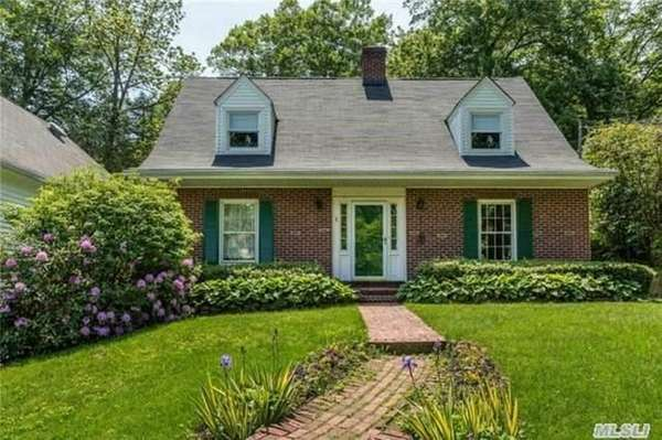 This four-bedroom house on a half-acre in Huntington