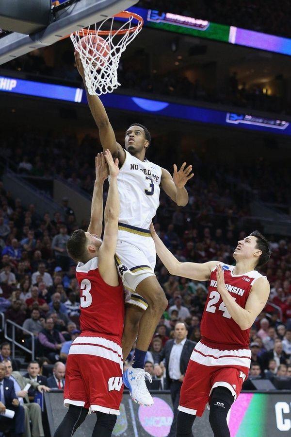 V.J. Beachem led Notre Dame with 19 points,