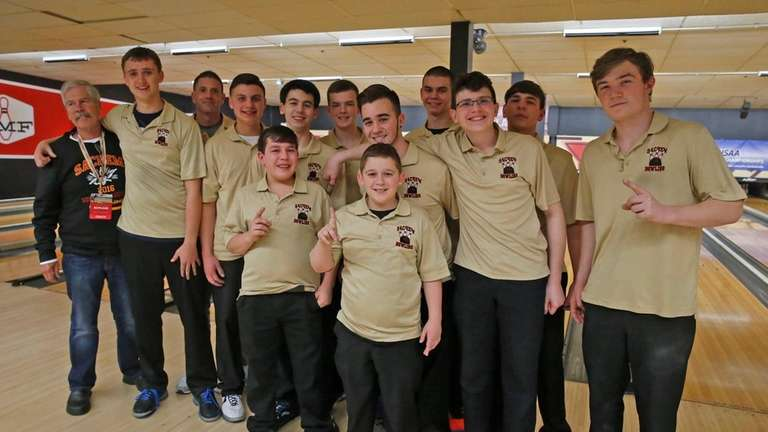 The Sachem combined bowlling team was so deep