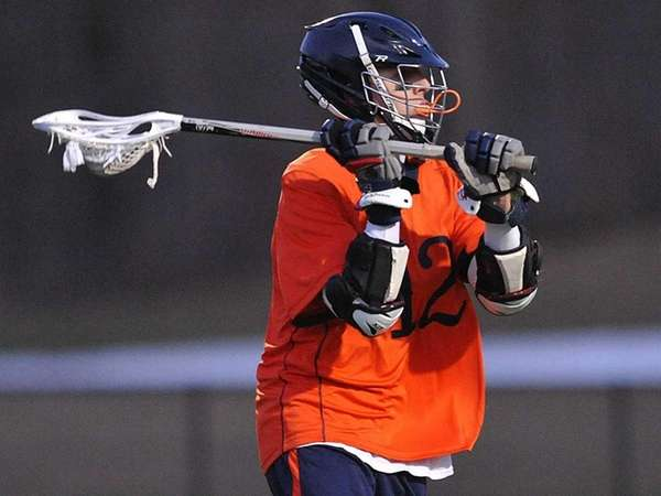 Manhasset No. 12 Matt Gavin looks to
