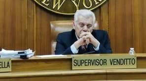 Oyster Bay Town Supervisor John Venditto is seen