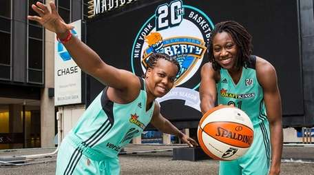 The New York Liberty and the WNBA unveil