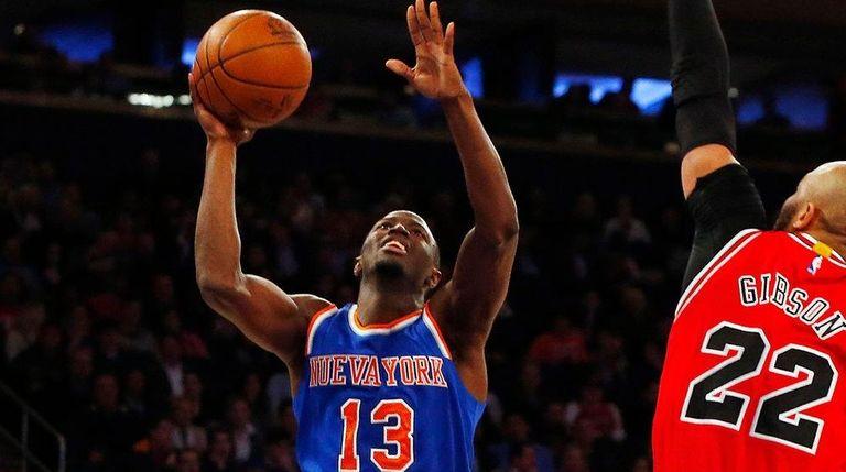Jerian Grant of the New York Knicks
