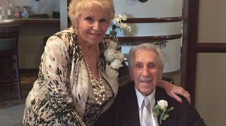 Dorothy and James Pellegrino of Westbury celebrated their