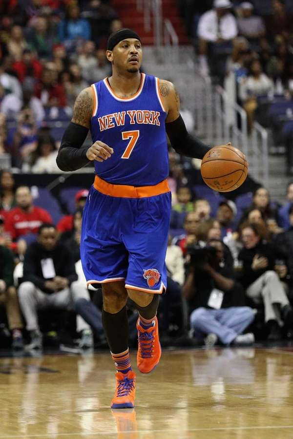 Knicks' Carmelo Anthony comments on kid who ran