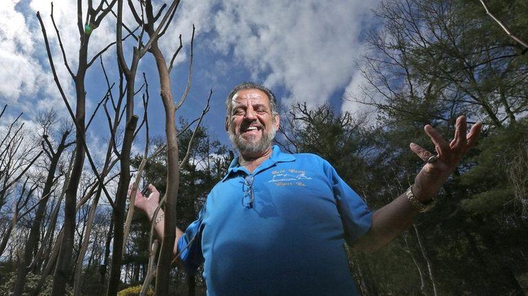 Tony Testa raises fig trees in his Dix