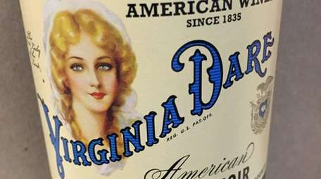 Virginia Dare American Pinot Noir is a round,
