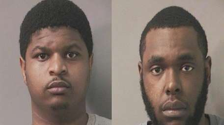 Jermaine Jones, 21, left, was arrested and charged