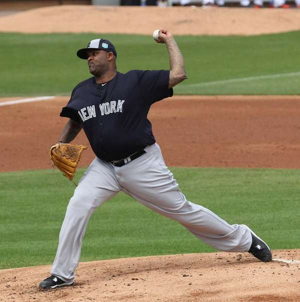 New York Yankees' CC Sabathia said he feels