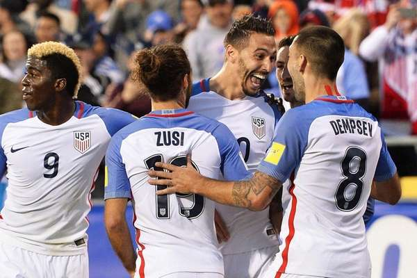 Geoff Cameron of the United States Men's National