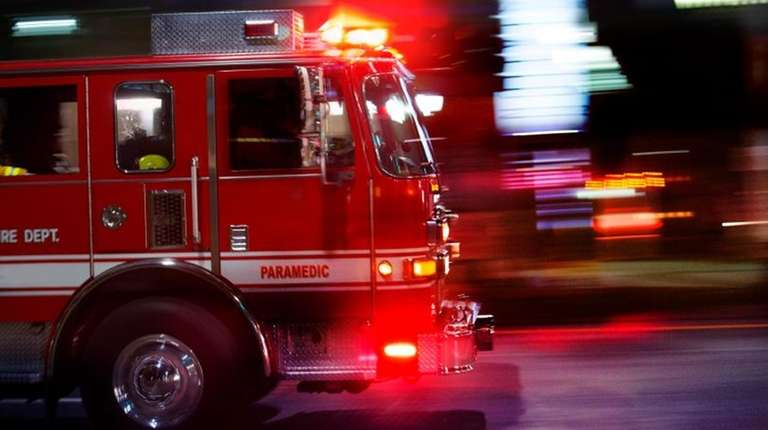 A six-alarm fire in Bushwick on Tuesday injured