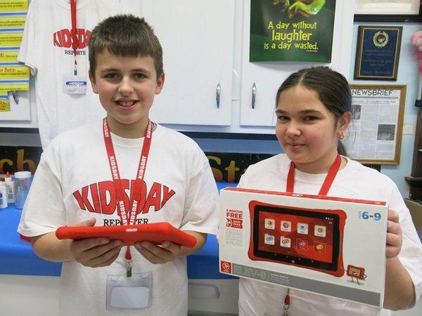 Kidsday reporters Aidan Eslin and Avery Rubino tried
