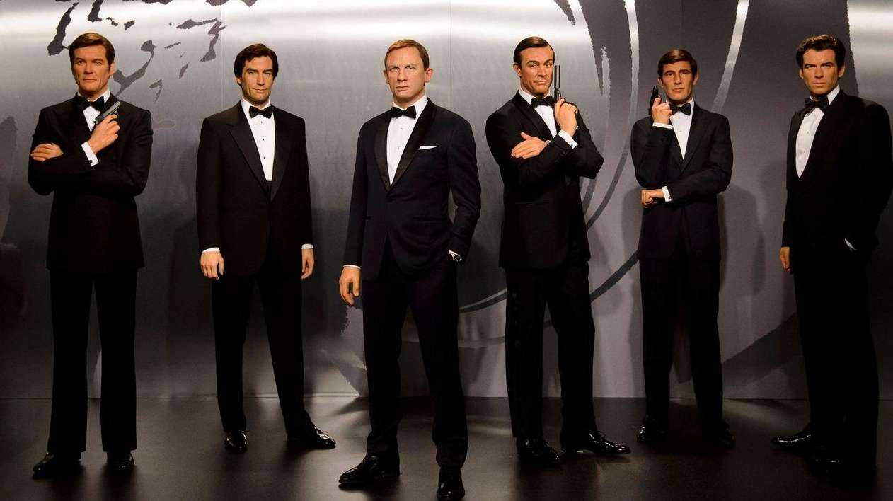 All six James Bond actors are in a