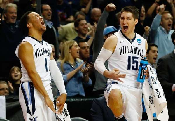 Jalen Brunson #1 and Ryan Arcidiacono #15