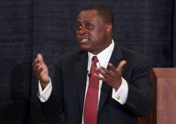 Dr. Bennet Omalu, who discovered the brain