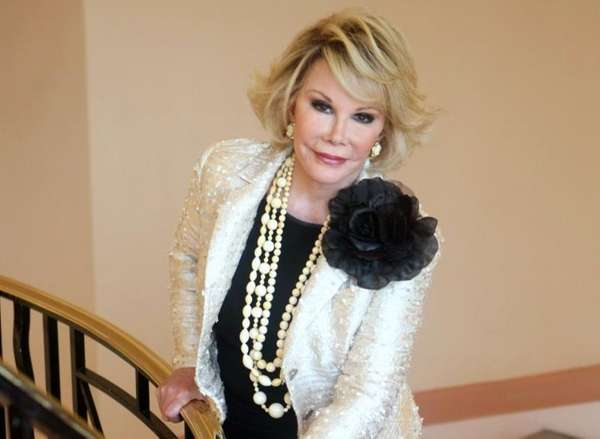 Joan Rivers gets a loving sendoff from colleagues