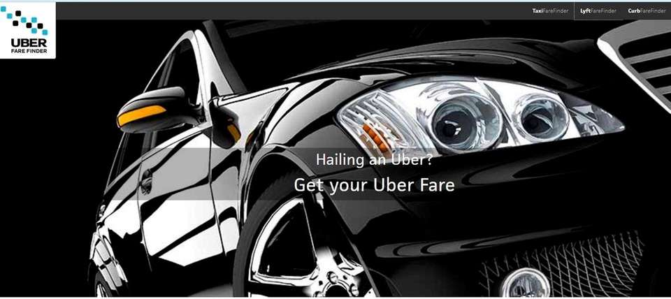 NAME uberfarefinder.com WHAT IT DOES Allows budget-minded travelers