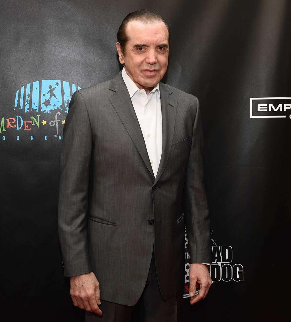 Actor Chazz Palminteri walks the red carpet before