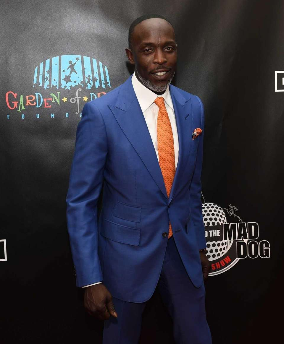 Actor Michael K. Williams walks the red carpet