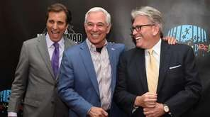 Bobby Valentine, center, poses with Chris Mad Dog