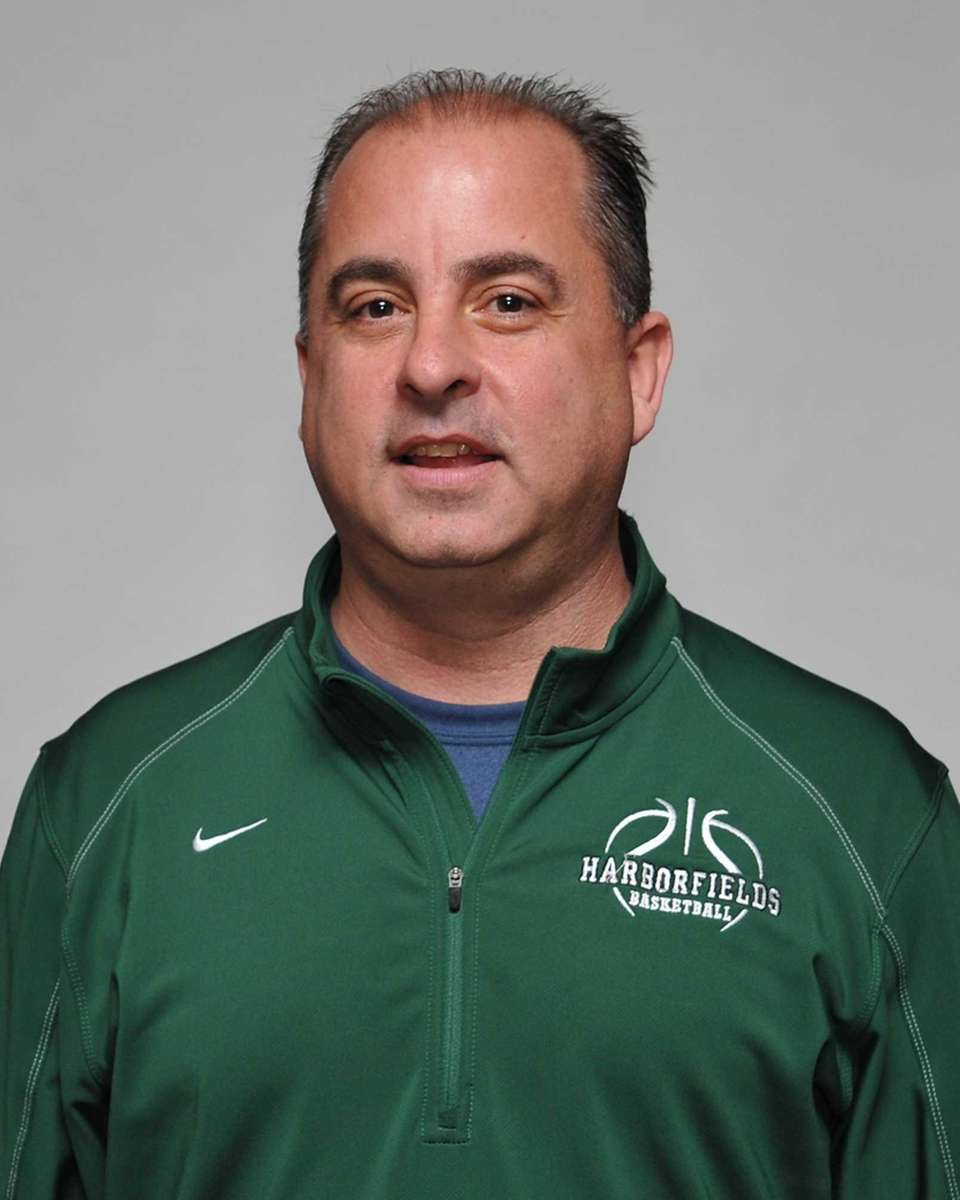 Coach John Tampori of Harborfields.