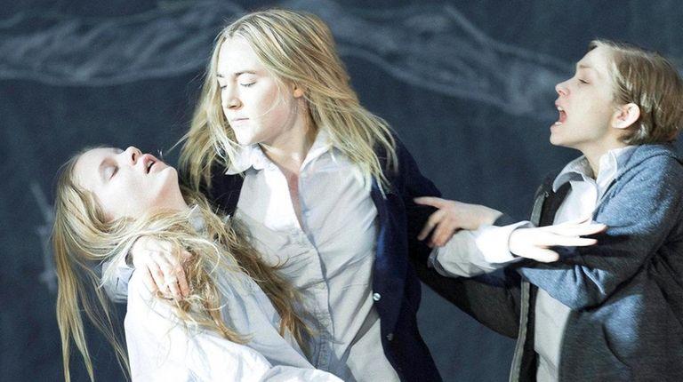 Elizabeth Teeter, Saoirse Ronan and Tavi Gevinson in