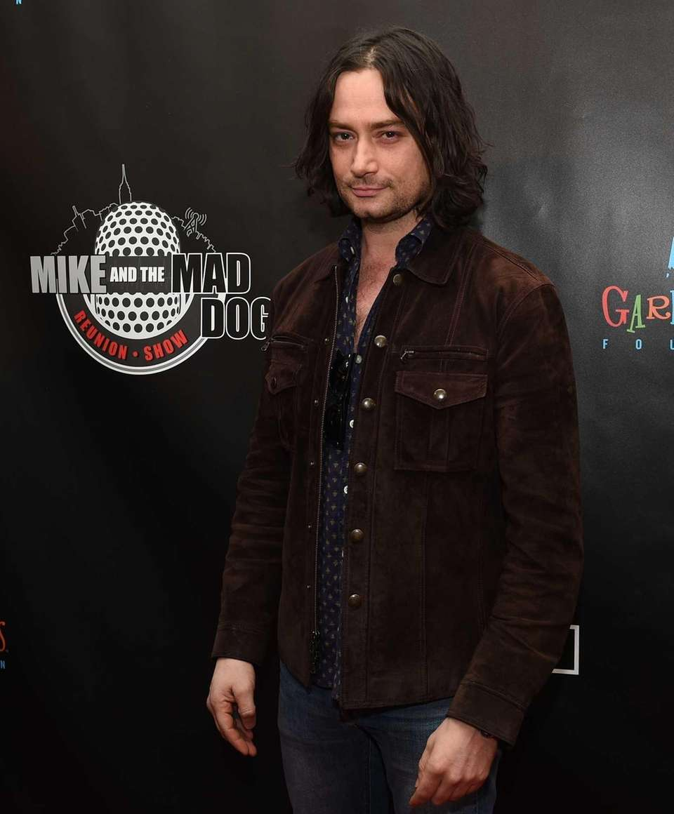 Actor Constantine Maroulis walks the red carpet before