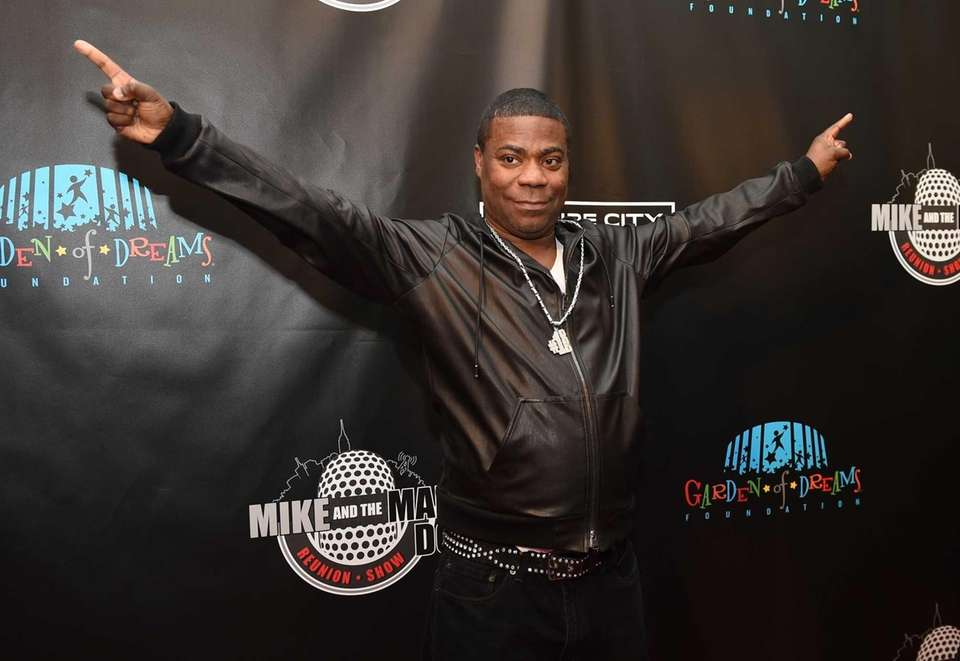 Comedian Tracy Morgan walks the red carpet before