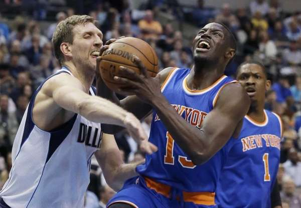 New York Knicks guard Jerian Grant (13) drives