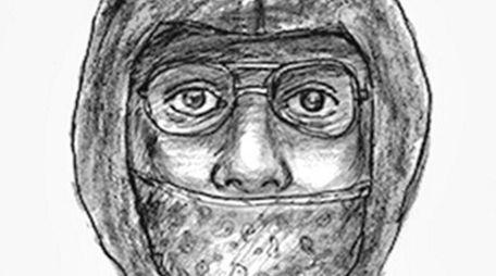 Nassau County police said this sketch shows a