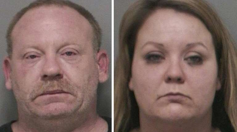 Nicole Genua, 29, right, of Levittown allegedly bought