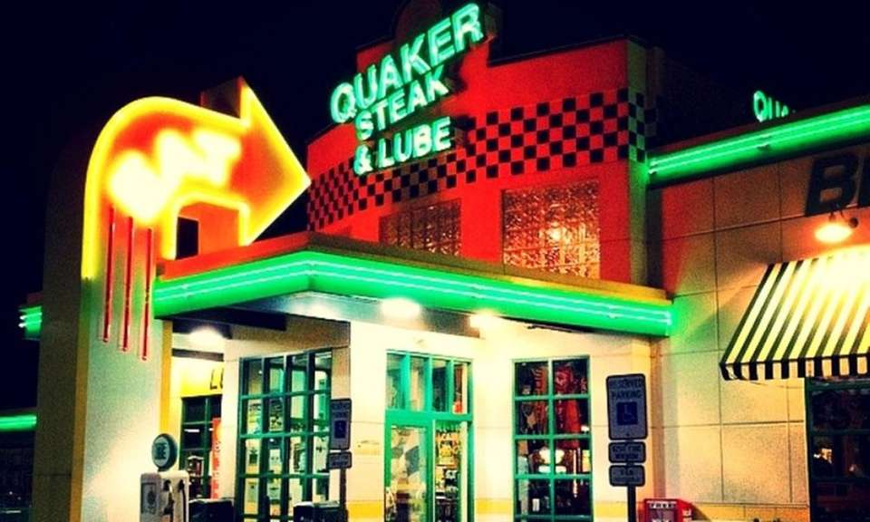 Quaker Steak and Lube is well known around