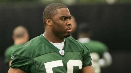 New York Jets first round draft pick Vernon