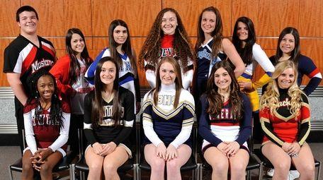 The 2016 Newsday All-Long Island varsity cheerleading team