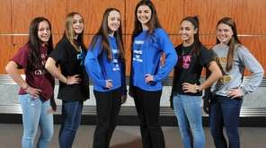 The 2016 Newsday All-Long Island varsity gymnastics team