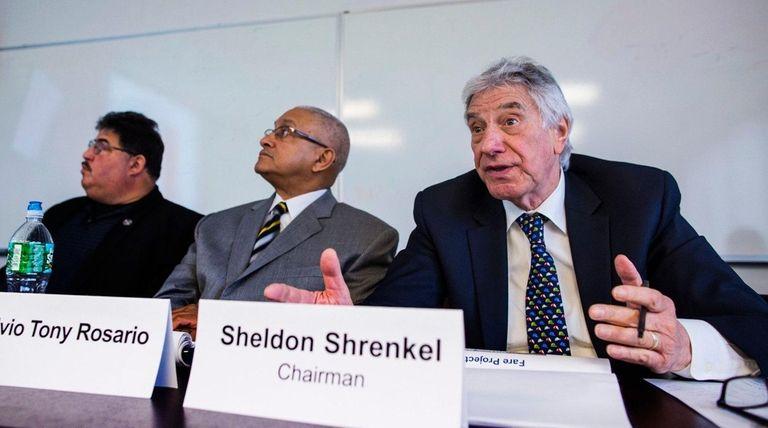 Sheldon Shrenkel, chairman of the Nassau Bus Transit