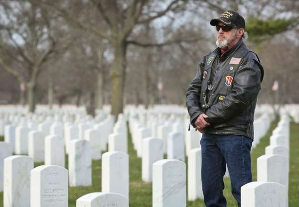 Vietnam veteran Anthony J. Quitoni is shown among