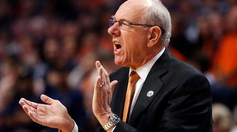 Syracuse coach Jim Boeheim had to vacate 101