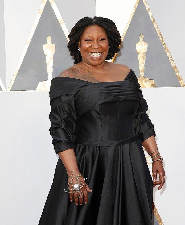 Whoopi Goldberg arrives at the 88th Academy Awards