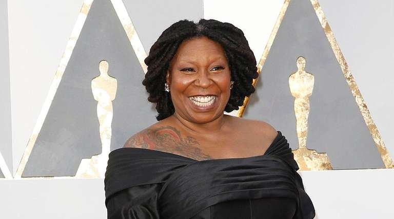 Whoopi Goldberg arrives at the 88th Academy Awards
